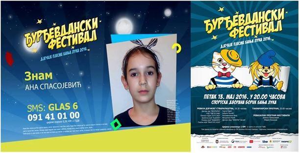 Ana Spasojević iz Zvornika na Đurđevdanskom festivalu nastupa kao šesta