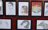 Prva samostalna izložba slika učenice Indire Hasanović