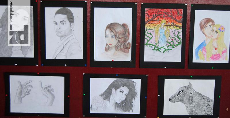 Photo of Prva samostalna izložba slika učenice Indire Hasanović