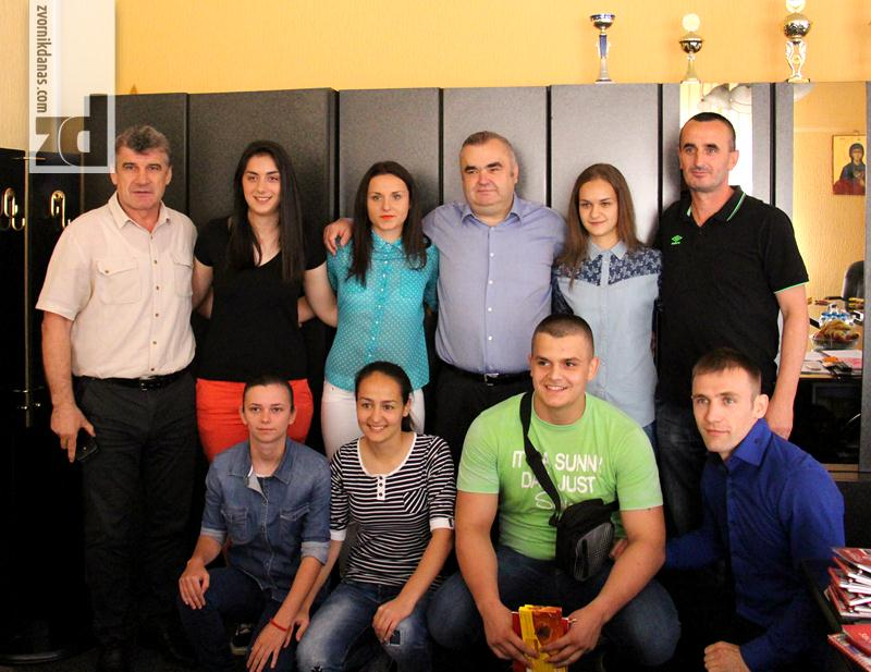 Photo of Gradonačelnik primio uspješne sportiste