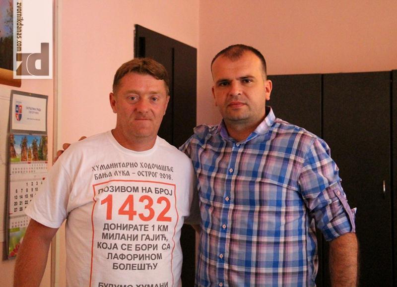 Photo of Hodočasnik Majkić u Gradskoj upravi Zvornik
