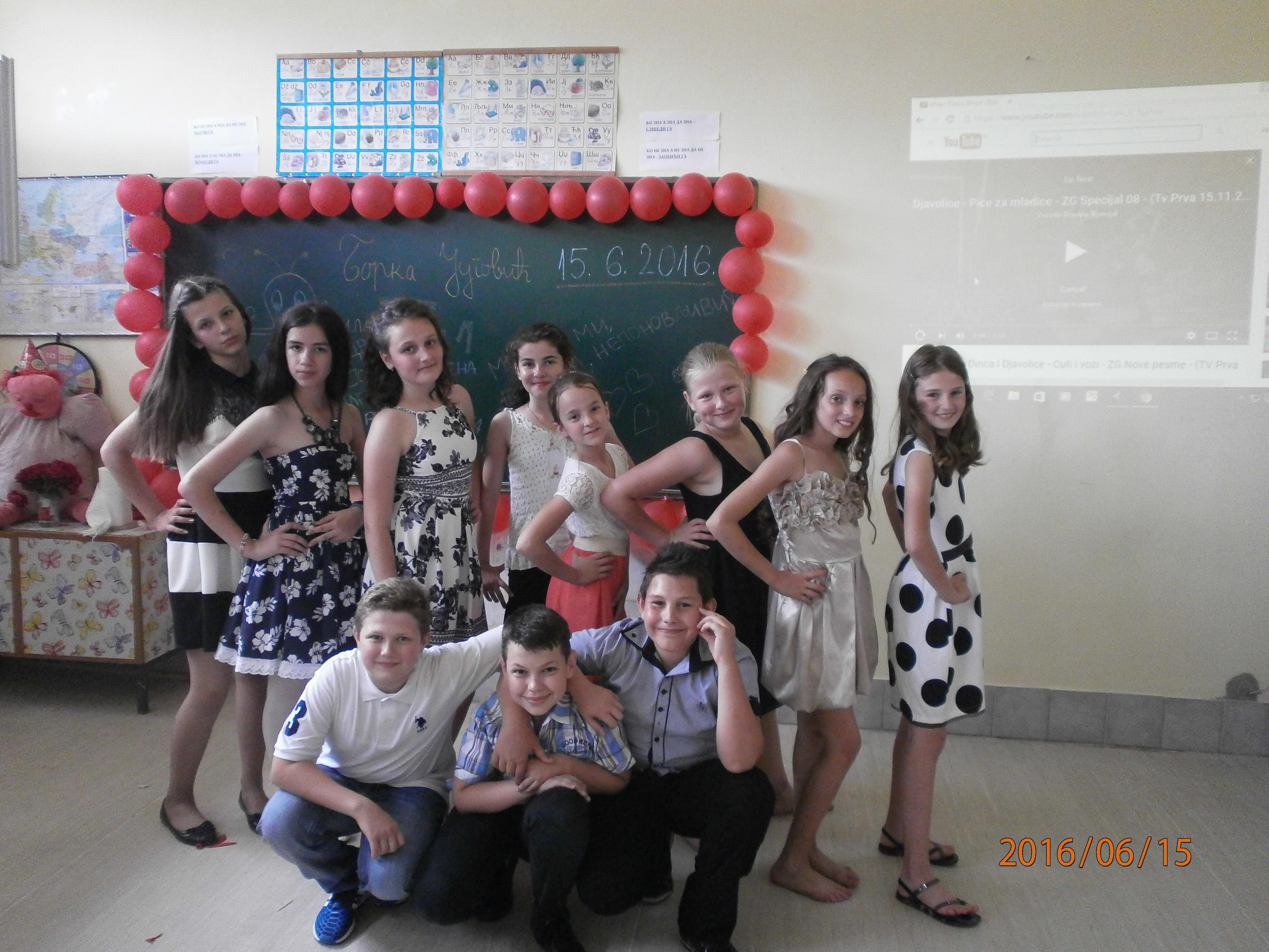 Photo of Proslavljena mala matura u osnovnoj školi u Drinjači