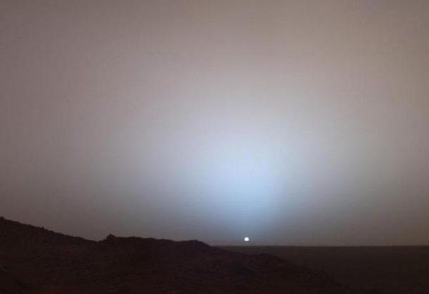 Zalazak Sunca na Marsu