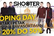 Veliki popusti: Shoping day u butiku Shooter