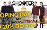 Veliki popusti: Shoping day u butiku Shooter