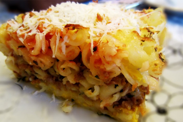 Recept dana : Musaka sa tjesteninom