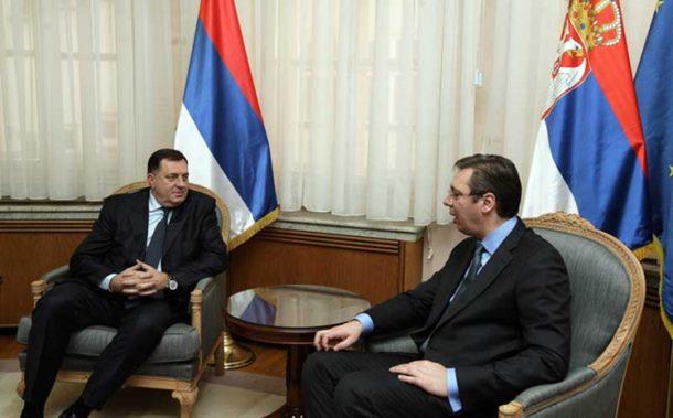 Gorući problemi pred Dodikom i Vučićem