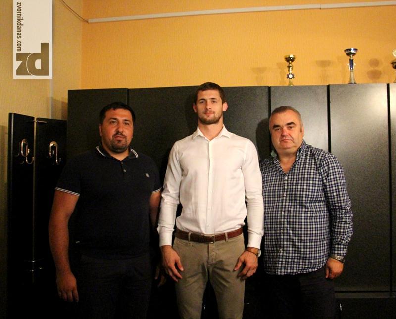Photo of Prijem za zvorničkog olimpijca Aleksandra Kukolja
