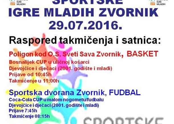 """Photo of Na """"Sportskim igrama mladih"""" takmičenje djece u malom fudbalu, odbojci i košarci"""