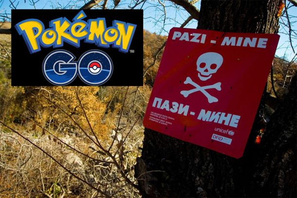U BiH ulaze u minska polja zbog Pokemona