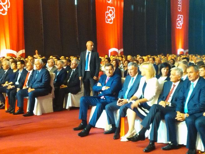 Svečana akademija povodom obilježavanja 20 godina od osnivanja i rada SNSD-a (Foto: SRNA)