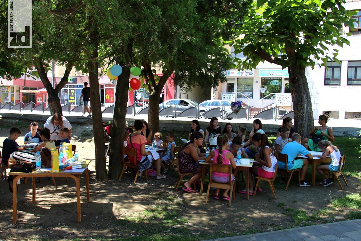 """Photo of """"Likovna radionica"""" u gradskom parku"""