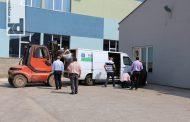 Pomoć u opremi za tri privredna subjekta iz Ambasade Italije