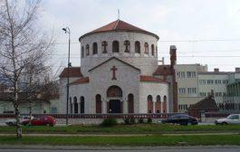 Zapaljen hram Preobraženja Gospodnjeg u Sarajevu