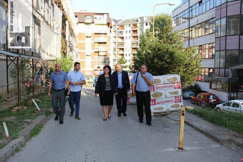 Photo of Golićeva obišla radove na zvorničkoj Bolnici