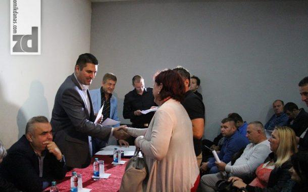 Poslodavcima uručeni ugovori u okviru projekata Zavoda za zapošljavanje