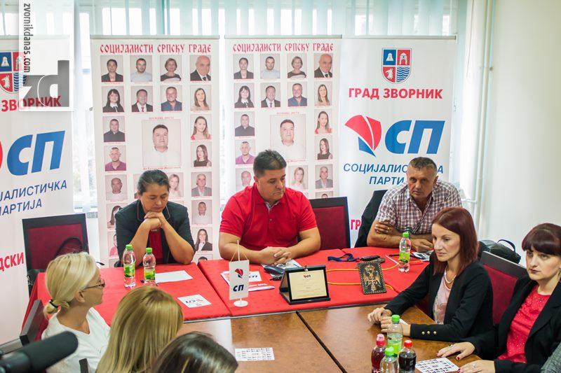 Photo of Pres konferencija Socijalističke partije