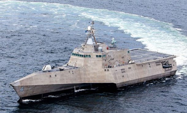 Ponos američke mornarice ponovo pokvaren (video)