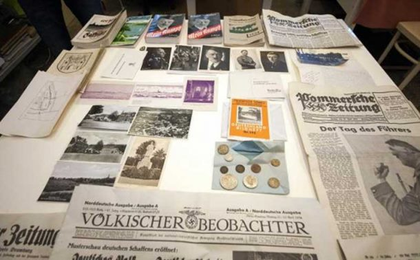 Photo of Pronađena nacistička vremenska kapsula, evo šta su sačuvali