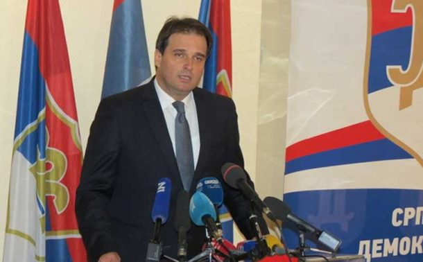 Govedarica - novi predsjednik SDS-a