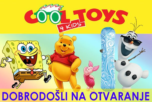 Photo of Dobrodošli u cartsvo igračaka – COOL TOYS