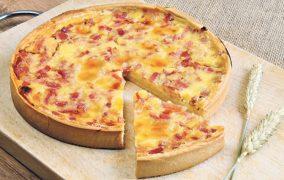 Pikantna pita sa ajvarom i slaninom