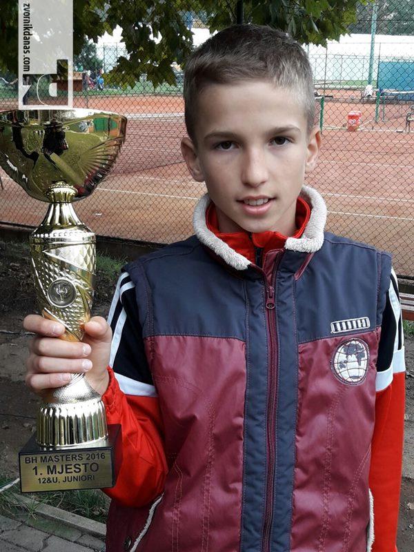 Tomić najbolji mladi teniser BiH