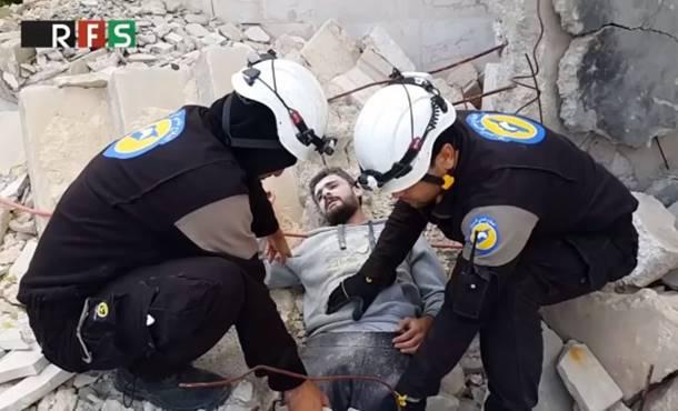 """Photo of Sirija: Kontroverzni snimak """"Bijelih šljemova"""" razbjesnio javnost (video)"""