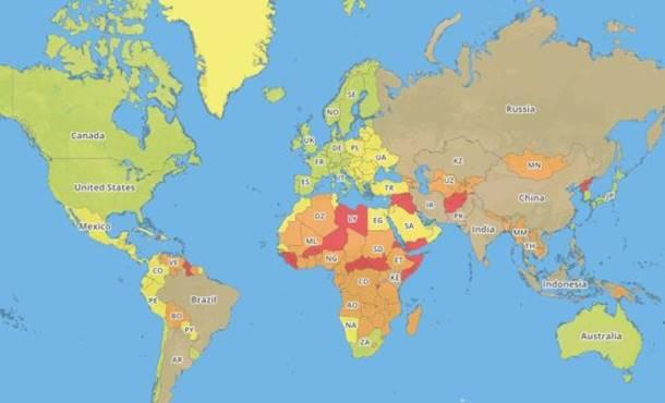 Photo of Koje su najopasnije, a koje najsigurnije zemlje za putnike?