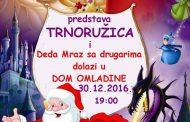 Deda Mraz u Zvornik stiže 30. decembra u 19 časova