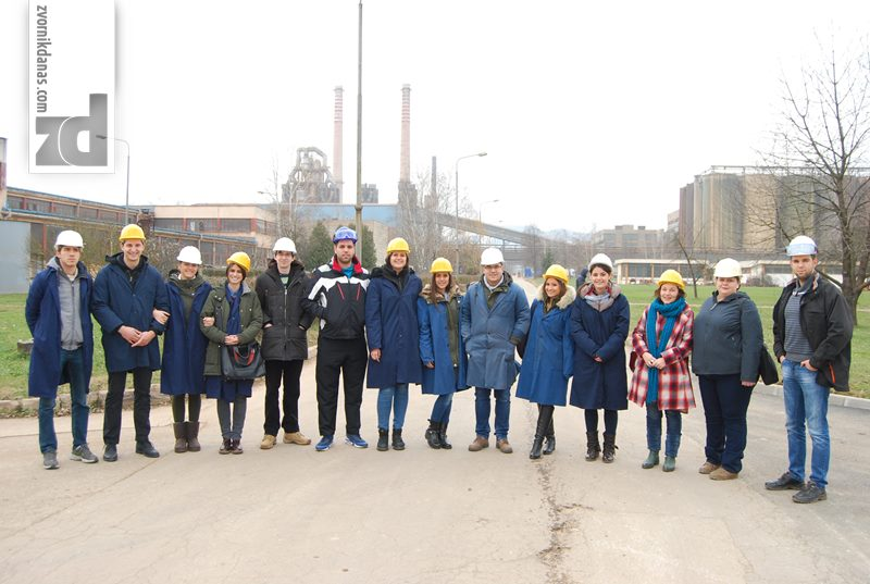 """Photo of Studenti Tehnološkog fakulteta iz Novog Sada u posjeti """"Alumini"""""""