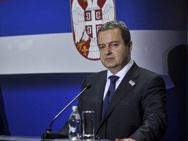 Dačić: Zapadne službe obavijestile Srbiju o mogućem napadu albanske dijaspore