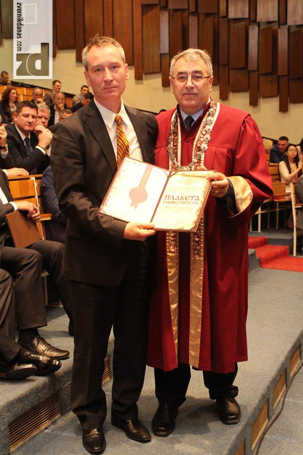 Photo of Profesor Milorad Tomić najbolji istraživač na Univeriztetu u Istočnom Sarajevu