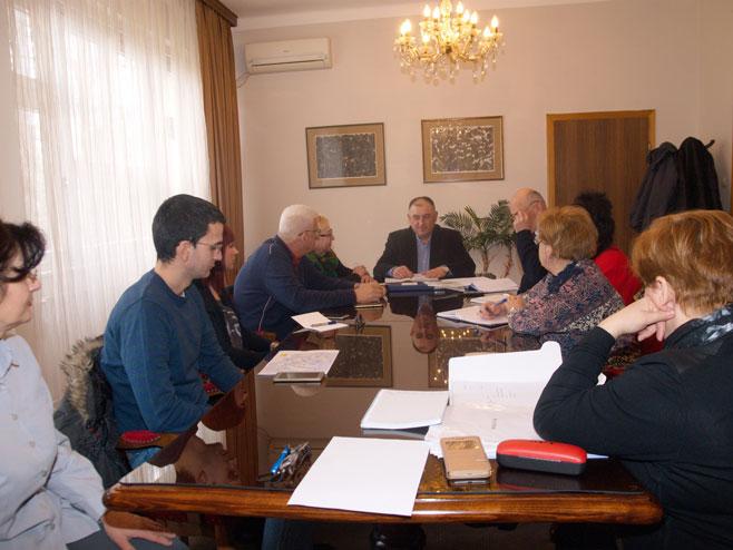 Prijedor - Komisija centra za suzbijanje ptičijeg gripa - Đaković - sastanak