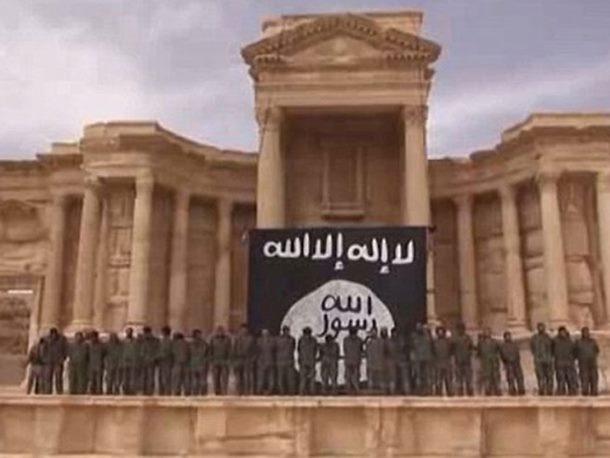 Teroristi srušili Rimski teatar u Palmiri (video)