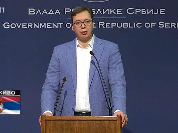Vučić: Prihvatio sam kandidaturu za predsjednika zbog stabilnosti Srbije