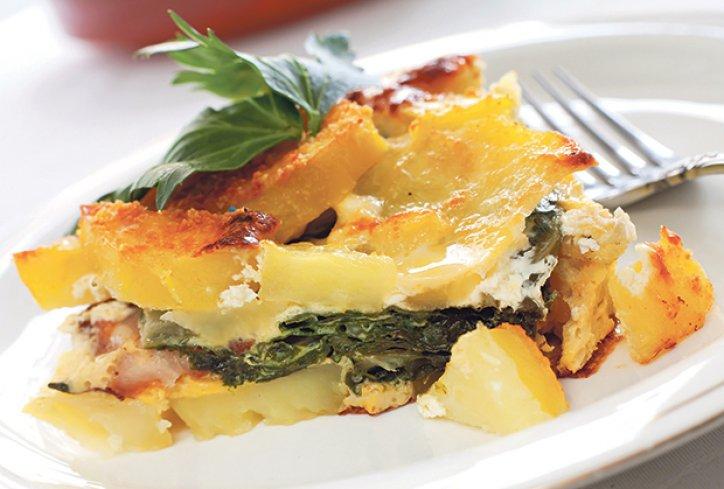 Recept dana : Musaka od blitve, sira i krompira