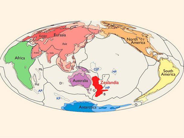 Zemlja ima novi skriveni kontinent!