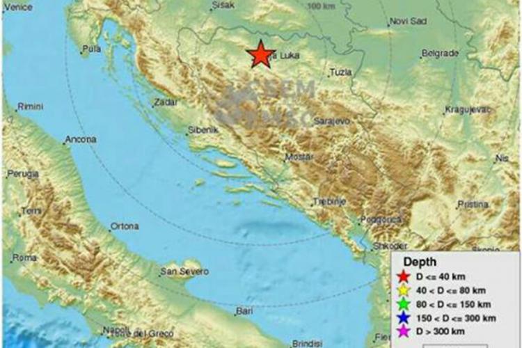 Photo of Zemljotres kod Banjaluke