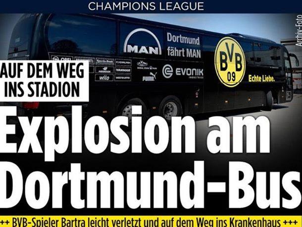 Dortmund: Tri eksplozije kod autobusa Borusije, povrijeđen fudbaler