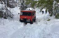 Na Majevici snijeg od jednog metra