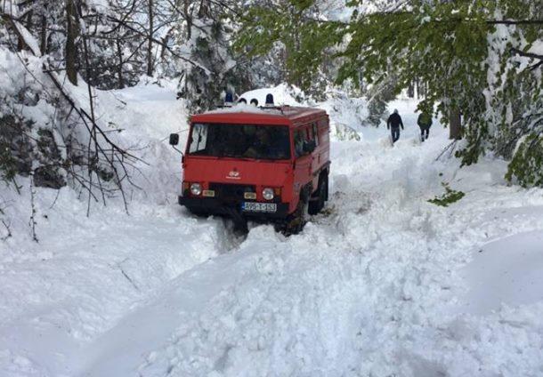 Photo of Na Majevici snijeg od jednog metra