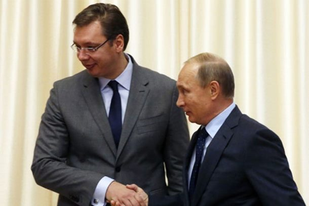 Putin čestitao Vučiću pobjedu