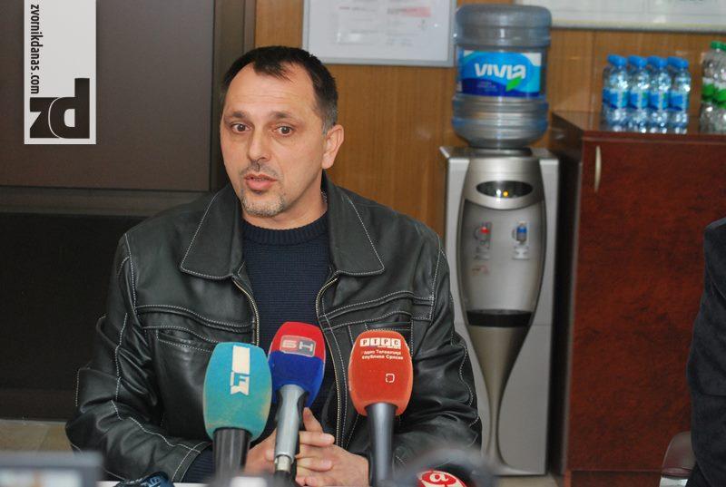 Radenko Smiljanić, predsjednik sindikalne organizacije Alumine