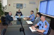 Radni sastanak rukovodilaca PU Zvornik sa direktorom policije Darkom Ćulumom