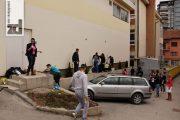 """Uređenje igrališta u kampanji """"April mjesec čistoće"""""""