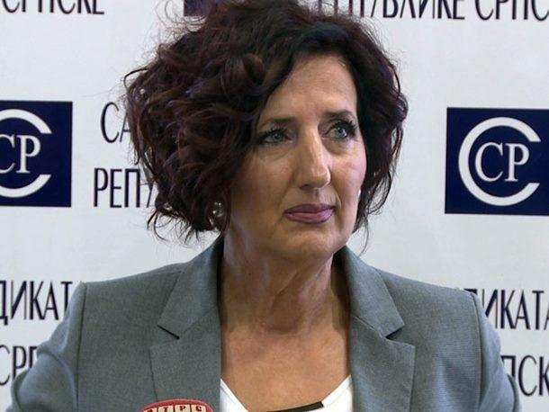 Sindikat uprave donio zaključak o nepovjerenju Ranki Mišić