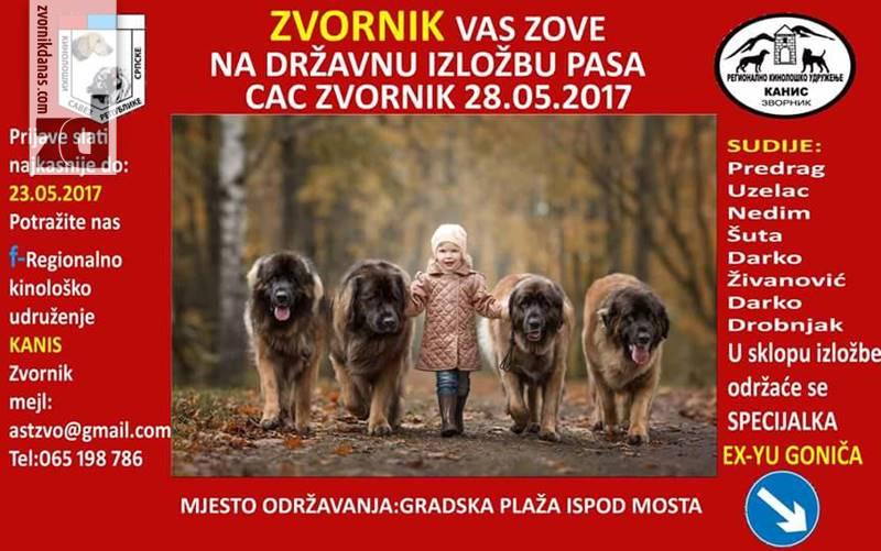 Photo of U Zvorniku druga izložba pasa CAC BiH Zvornik, prijavivanje u toku