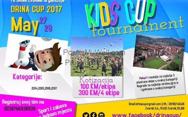 FK Drina organizuje prvi fudbalski turnir za djecu