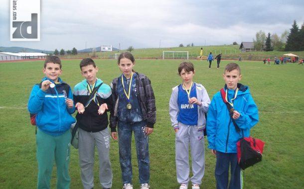 Novi uspjesi mladih atletičara